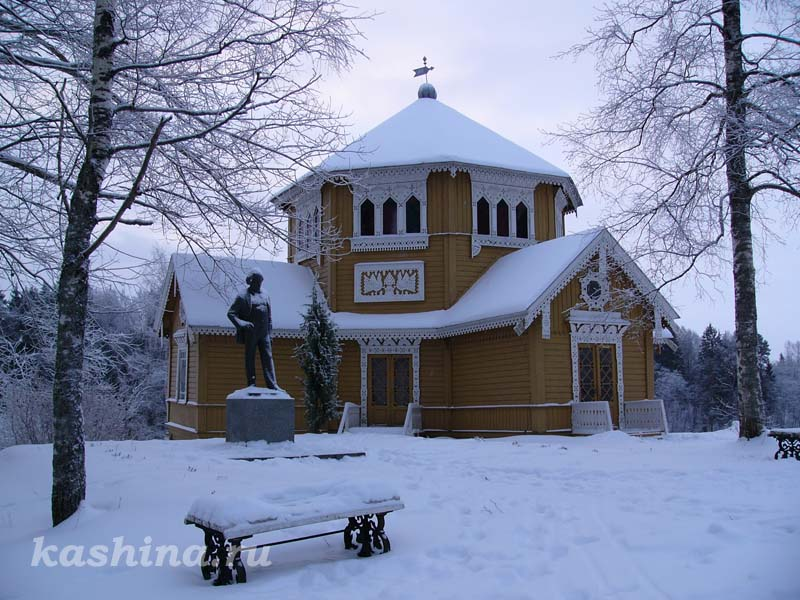 """Academic Dacha in Vyshny Volochok."" photo by Evgeniya Kashina."